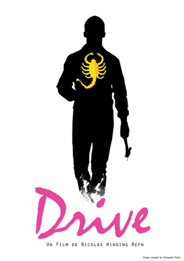 Póster Fan Art de la película Drive