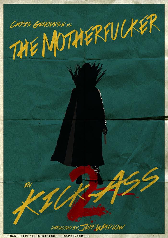 Poster fan art kick-ass 2