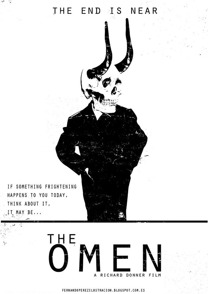 Poster fan art La profecía (the omen)