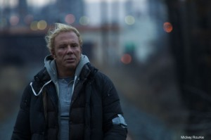 "Mickey Rourke como Randy ""The Ram"""
