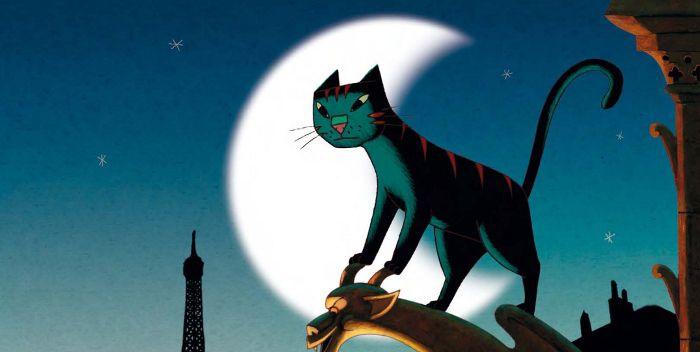 Un gato en París