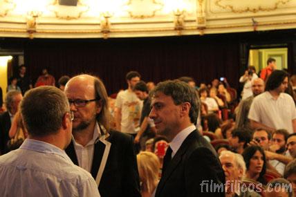 Santiago Segura encargado de darle el premio a Jose Mota, Cinema Jove 2012