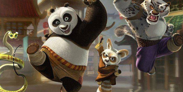 Kung Fu Panda pelicula animación