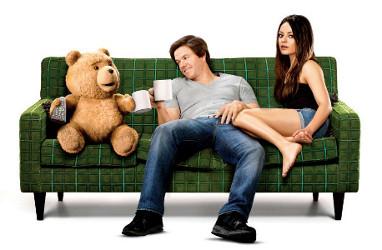 Pelicula Ted con Mila Kunis