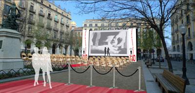 En el festival de cinema de girona se harán proyecciones al aire libre