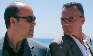 Antonio resines y Jose Coronado en La caja 507