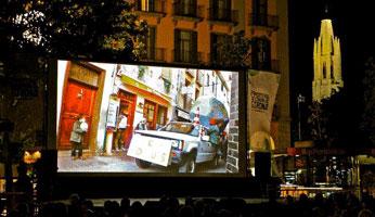 Cine en la calle