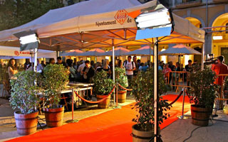 Inauguración del festival
