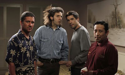 Protagonistas de la película No controles