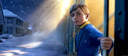 "Imagen de la pelicula de animacion ""Polar Express"""