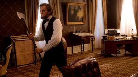 Abraham Lincoln: Cazador de vampiros, pelicula que suena a chiste