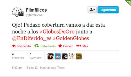 Hablamos sobre la gala de los globos de oro 2013