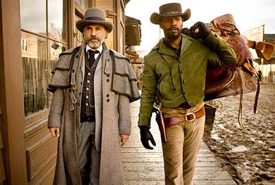 protagonistas de Django Desencadenado