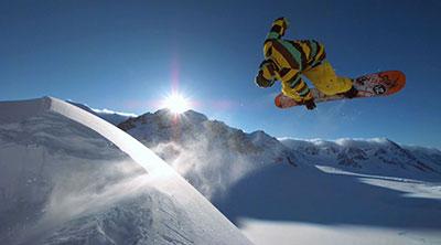 The Art of Flight Documental snowboard