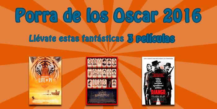 Porra Oscars 2016
