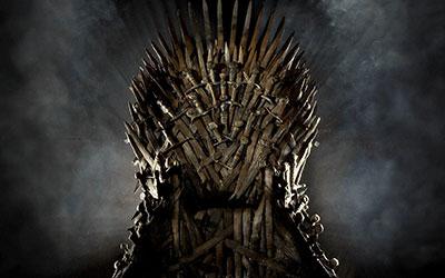 El trono de juego de tronos