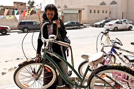 Critica la bicicleta verde Wadjda