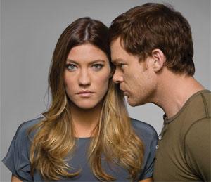 Debra y Dexter Morgan