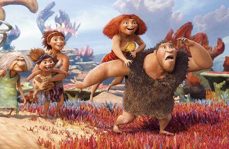 Los Croods. Una aventura prehistorica por los Oscars 2014