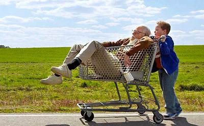 Fotograma de la película Bad Grandpa
