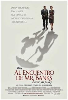Al encuentro de Mr. Banks nominada a mejor banda sonora en los Oscars 2014