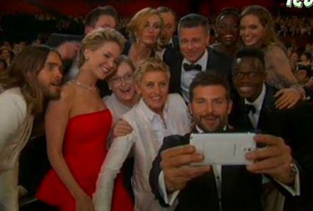 Selfi Oscars 2014