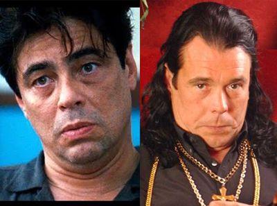 Benicio del Toro se parece al rubio de cruz y raya