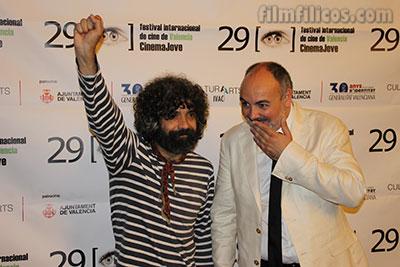 Cinema Jove 2014 - Gala de inauguración con Fede Celada