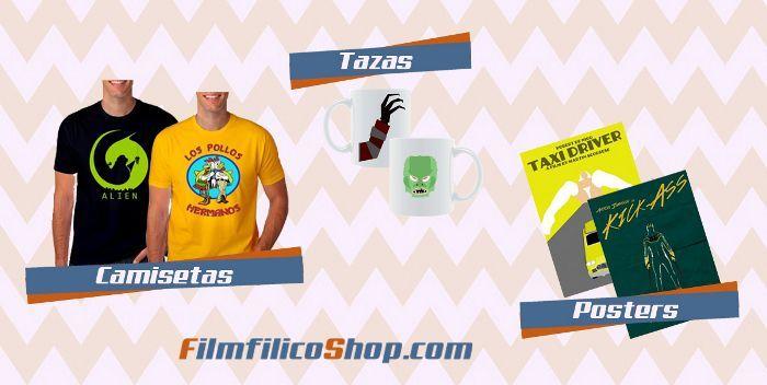 Filmfilicoshop la tienda de camisetas de cine y series