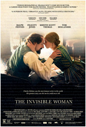 Póster de la película The Invisible Woman (La mujer invisible)