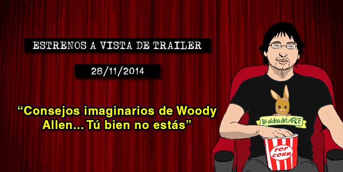 Estrenos de cine (28/11/2014)