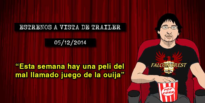 Estrenos de cine (05/12/2014)