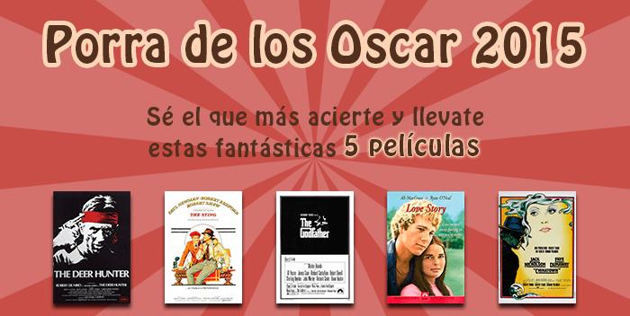 Porra de los Oscar 2015 en filmfilicos el blog de cine