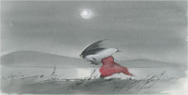 Crítica película de animación del Studio Ghibli El cuento de la princesa Kaguya en filmfilicos el blog de cine
