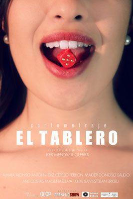 Cartel del cortometraje El tablero de la productora Dramatic Show