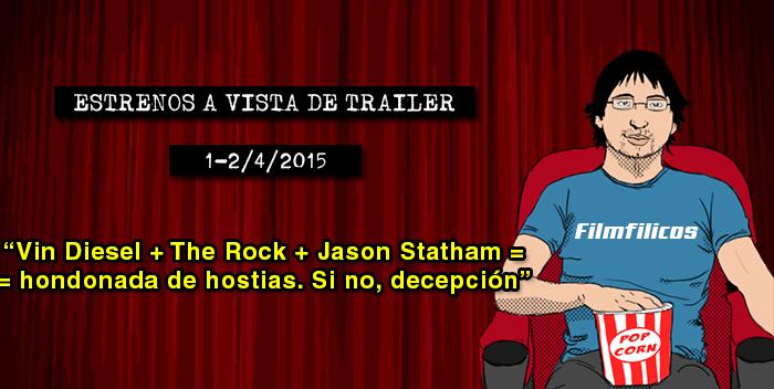 Estrenos de cine (1-2/04/2015)