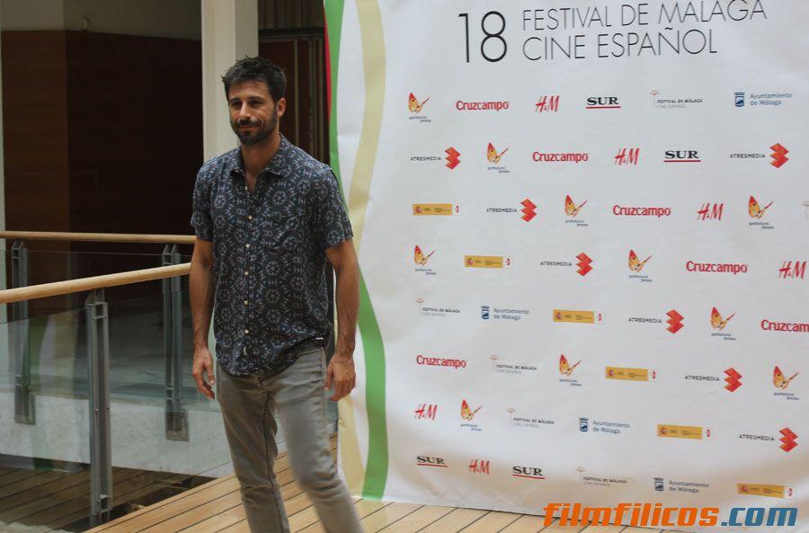 Hugo Silva en el 18 Festival de Málaga y te lo cuenta filmfilicos el blog de cine