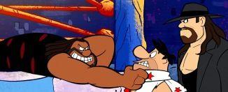 Mierdipeli Los Picapiedra & WWE: Stone Age Smackdown! en filmfilicos el blog de cine