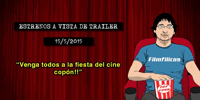 Estrenos de cine (15/05/2015)