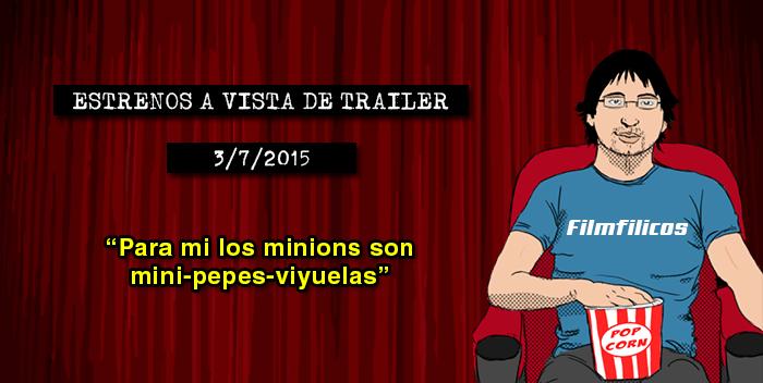Estrenos de cine (03/07/2015)