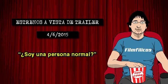 Estrenos de cine (04/06/2015)