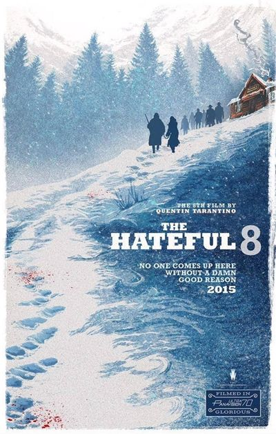 Cartel The Hateful Eight - filmfilicos blog de cine