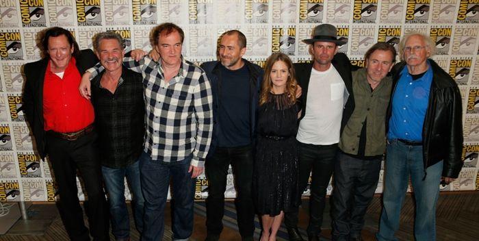 The Hateful Eight Comic Con - filmfilicos blog de cine