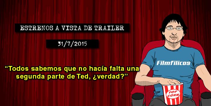 Estrenos de cine (31/07/2015)