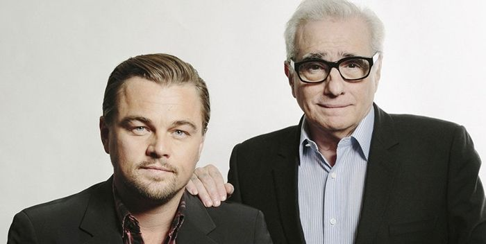 Martin Scorsese y Leonardo Di Carpio