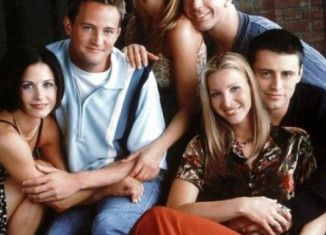 Infografía de la serie Friends