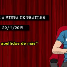 Estrenos de cine (20/11/2015)