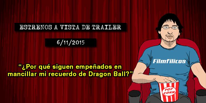 Estrenos de cine (06/11/2015)