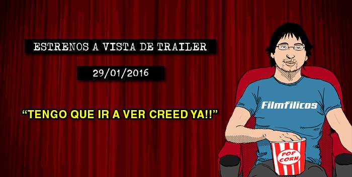 Estrenos de cine (29/01/2016)