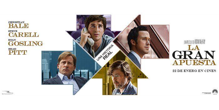 Crítica película La gran apuesta en el blog de cine